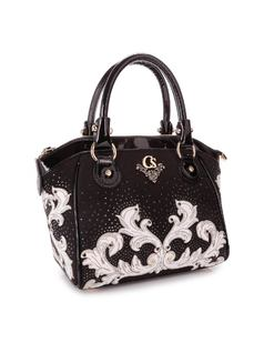 HANDBAG WITH LASER DESIGN back