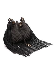 HANDBAG WITH FRINGES back