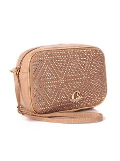 Almond Triangle Handbag back