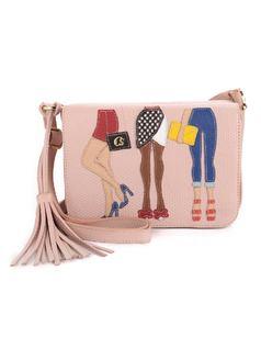 Rose Fashion Handbag front