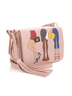 Rose Fashion Handbag back