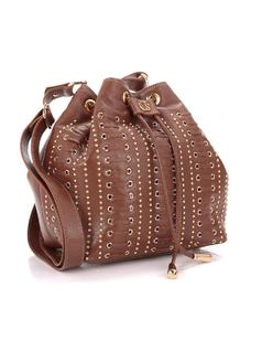 HANDBAG WITH METAL APPLIQUE back