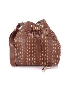 HANDBAG WITH METAL APPLIQUE front