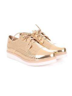 Metallic Golden Oxford back
