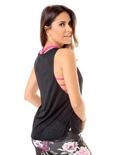 PRINTED FITNESS BLOUSE back