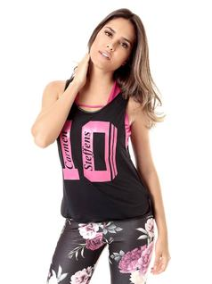 PRINTED FITNESS BLOUSE front