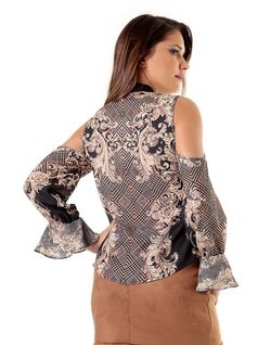 Multi-Shade Arabesque Plain Shirt