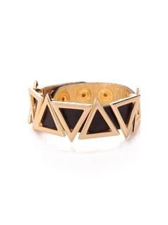 BRACELET WITH TRIANGLE METAL front