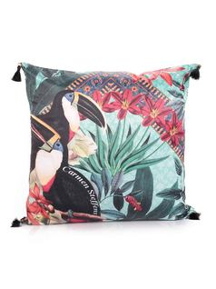 Toucan Fashion Pillow front
