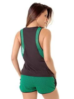 FITNESS BLOUSE WITH DETAILS back