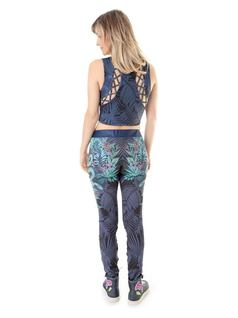 PRINTED FITNESS PANTS front