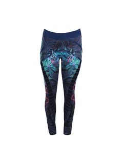 PRINTED FITNESS PANTS back