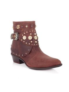Cinnamon Ankle Boot with Metals front