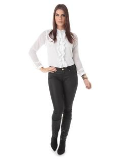 SKINNY PANTS WITH ZIPPER